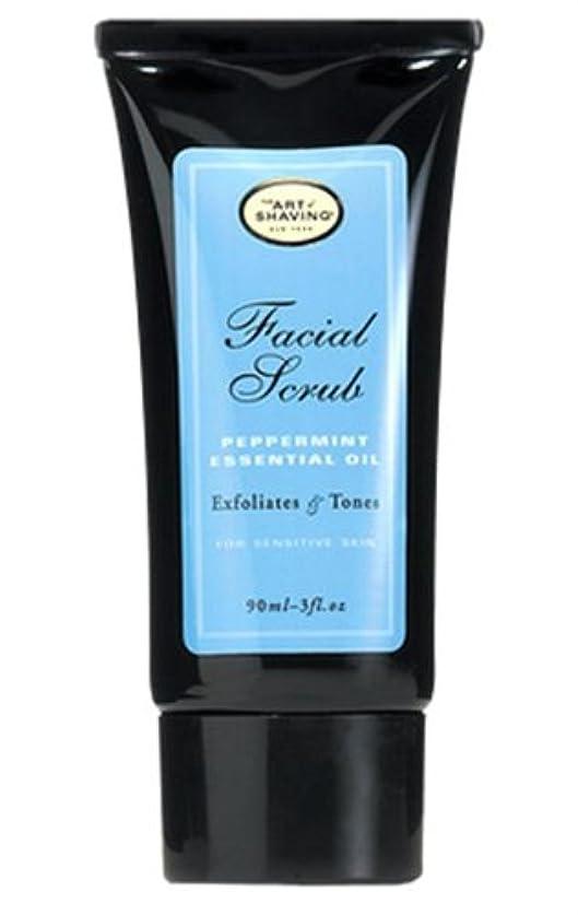 疼痛そのようなメダルThe Art Of Shaving Facial Scrub With Peppermint Essential Oil (並行輸入品) [並行輸入品]
