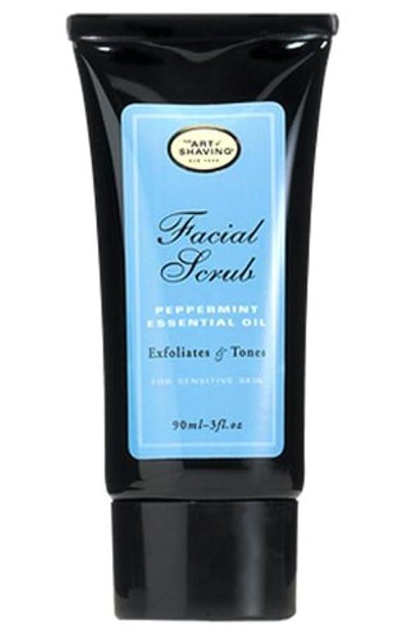 灌漑わずかな薬The Art Of Shaving Facial Scrub With Peppermint Essential Oil (並行輸入品) [並行輸入品]