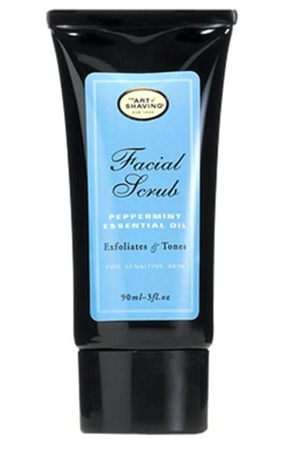 惨めな無力裁判所The Art Of Shaving Facial Scrub With Peppermint Essential Oil (並行輸入品) [並行輸入品]
