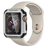 【Spigen】 Apple watch ケース Series 4 44mm 対応 米軍MIL規格取得 耐衝撃 タフ・アーマー 062CS24478 (シルバー)