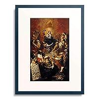 マイケル・レオポルド Willmann, Michal Leopold 「Der Stammbaum Christi」 額装アート作品