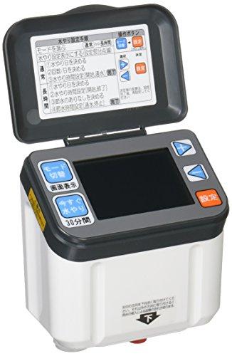セフティー3 自動水やり器 電池式 タイマー スタンド付 1日4回まで対応 芝生・鉢植え・畑用 SAW-2