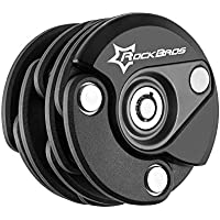 ROCKBROS(ロックブロス)チェーンロック 自転車 ワイヤーロック バイクロック 折りたたみ式 パスワード自由設定 ダイヤル式 頑丈