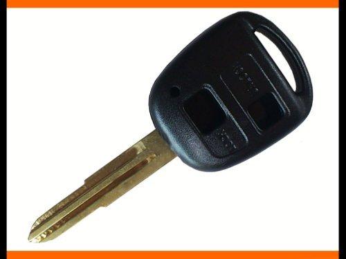《KEY-005》 ◆ ブランクキー (トヨタ・ダイハツ) 2ボタン パッソ ラッシュ bB タント ミラ ムーブ ラクテール等 キーレス スペアキー 合鍵 などに M378◆