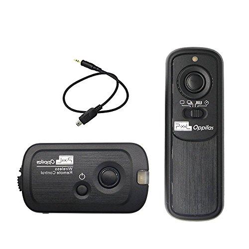 PIXEL RW-221 デジタル一眼レフカメラ ニコン用 ワイヤレス レリーズシャッター タイマー リモコン シャッタ接続ーケーブル付き 100mリモートコントロール距離 ?NiKon D90 D600 D610 D750 D3100 D3200 D33