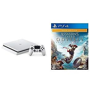 PlayStation 4 グレイシャー・ホワイト 1TB (CUH-2200BB02) + アサシン クリード オデッセイ ゴールドエディション - PS4 セット