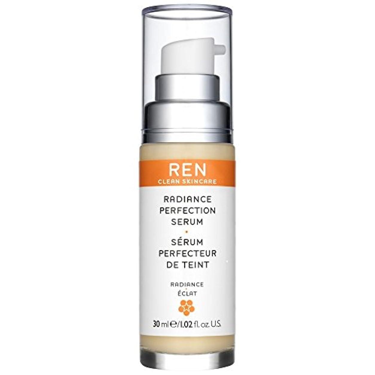 行方不明実質的に悪党Ren輝き完成血清30ミリリットル (REN) - REN Radiance Perfecting Serum 30ml [並行輸入品]
