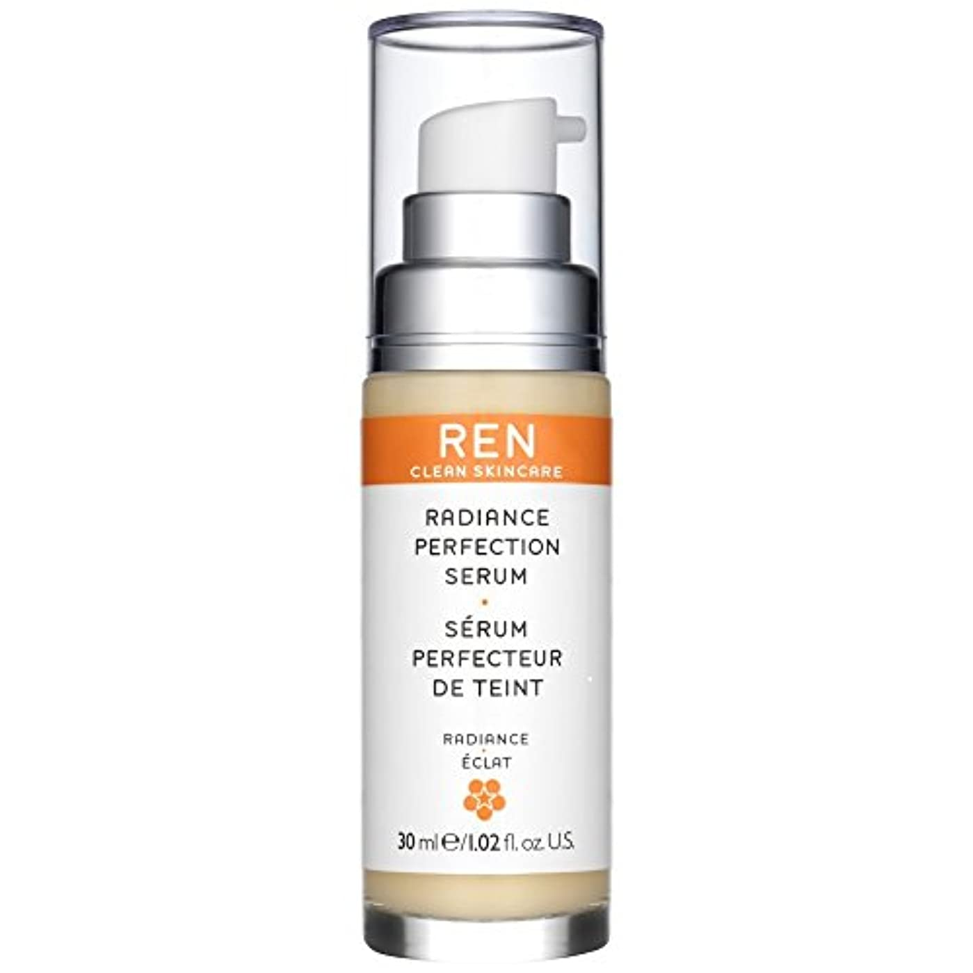 液体アラブ強いRen輝き完成血清30ミリリットル (REN) - REN Radiance Perfecting Serum 30ml [並行輸入品]