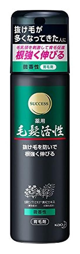 髄家禽書道サクセス 薬用毛髪活性 微香性 185g ×6個