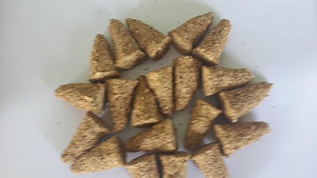 粘性の燃やすモロニックPalo Santo Incense Cones 80個サイズバッグ