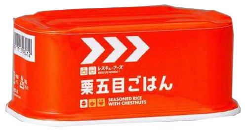 レスキューフーズ 栗五目ごはん 3年保存 非常食 備蓄保存用 200g×12個