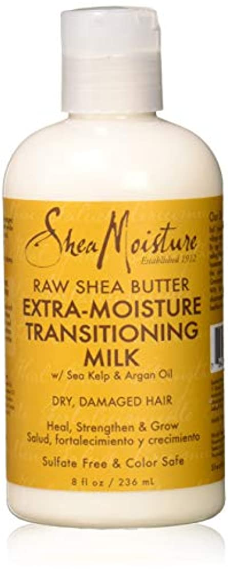 デコードする混乱させる晴れRaw Shea Butter Extra-Moisture Transitioning Milk - Dry-Damage Hair