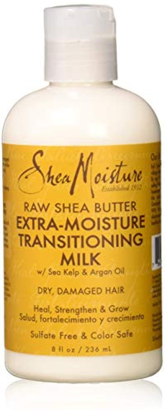 テレビ局シリングロボットRaw Shea Butter Extra-Moisture Transitioning Milk - Dry-Damage Hair
