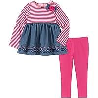 Kids Headquarters Baby-Girls 2 Pieces Leggings Set Pants Set