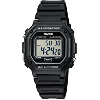 Casio Unisex F-108WH-1ACF Big Square Black Watch