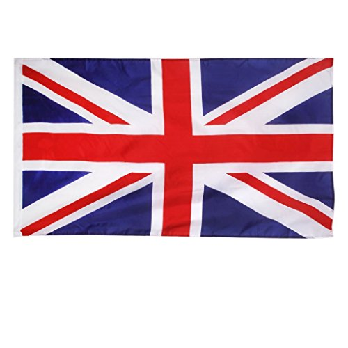 Myoffice イギリスユニオンジャック国旗 ポリエステル旗 イギリス国旗旗イングランド英語 150*90CM