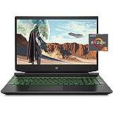 "HP Pavilion Gaming Laptop Computer, 15.6"" FHD IPS Anti-Glare 144Hz Display, AMD Ryzen 5 5600H, 8GB RAM, 512GB PCIe NVMe SSD,"