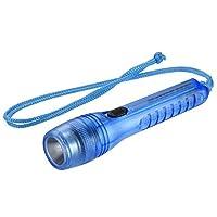 オーム電機 LED懐中ライト ブルー LHP-06A5-A