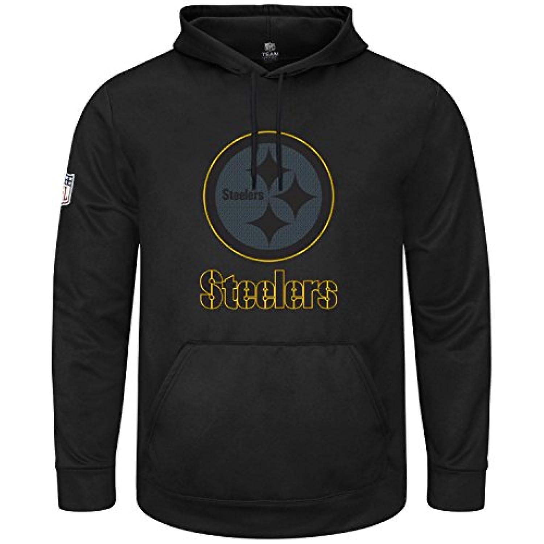 マジェスティック (Majestic) HEATHLY パーカー - NFL ピッツバーグ?スティーラーズ (Pittsburgh Steelers) ブラック