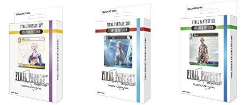 ファイナルファンタジーTCGカードゲームOpus VスターターデッキXII XIV Vaan XIII Serah & minfilia