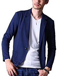 liberte riche(リベルテ リッシュ) メンズ ジャケット テーラードジャケット スウェット ビジネス カジュアル 細身 ストレッチ