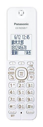 パナソニック デジタルコードレス電話機 親機のみ 1.9GHz DECT準拠方式 モカ VE-GDS02DL-T