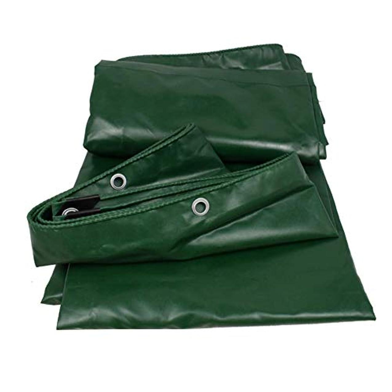 加害者群がるスリップシューズ防水シート厚手防水防水シート - グロメットと強化エッジ付きのUVに強いスーパーヘビーデューティポリカバー、グリーン FENGMIMG (色 : 緑, サイズ さいず : 4×6m)