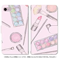 スマホ スマートフォン 手帳 スマホケース 化粧道具 【611_ピンク|Galaxy S6 edge SCV31】