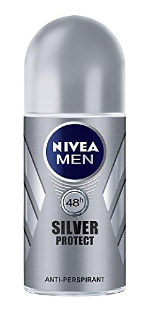 クーポン有望エンターテインメントNivea Men Silver Protect Anti-Perspirant Roll-On 50 ml / 1.7 oz