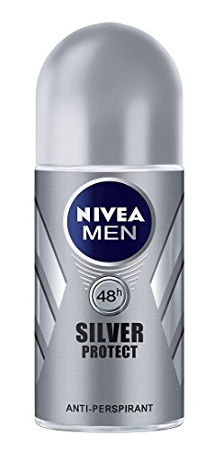 プレミア思いやり捕虜Nivea Men Silver Protect Anti-Perspirant Roll-On 50 ml / 1.7 oz