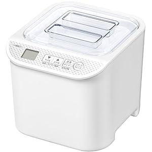 山善(YAMAZEN) ヨーグルトメーカー 発酵食メーカー 発酵美人 温度調整機能付き レシピブック付き YXA-100(W)