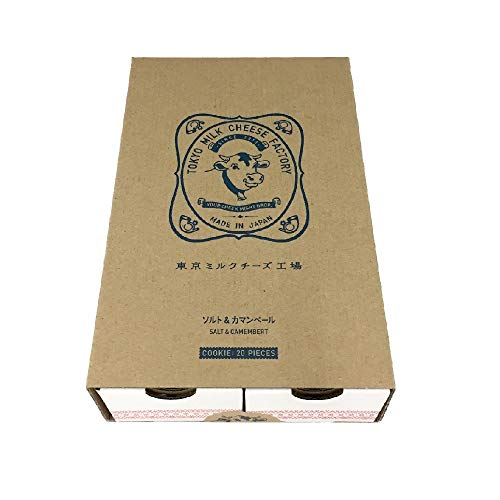 【東京ミルクチーズ工場】ソルト&カマンベールクッキー(20枚入り)