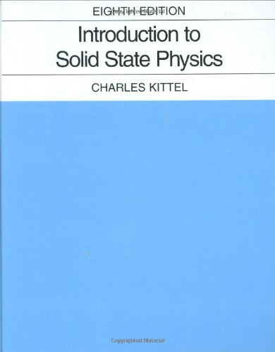 Introduction to Solid State Physicsの詳細を見る