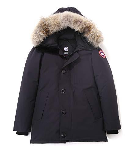 CANADA GOOSE (カナダグース メンズ) / ジャスパー/JASPER PARKA :ジャスパー メンズ ダウンジャケット ヘビーアウター パーカ アウター:XS ネイビー