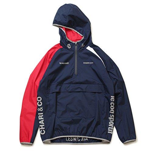 (チャリアンドコー)CHARI&CO NYC × LE COQ SPORTIF TEAM HALF ZIP JACKET ジャケット L:NAVY (国内正規品)