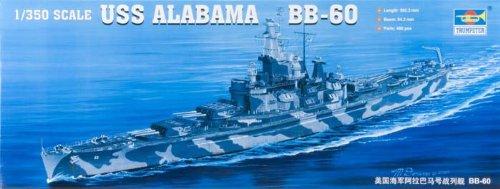 1/350 米海軍 BB-60 アラバマ 1942