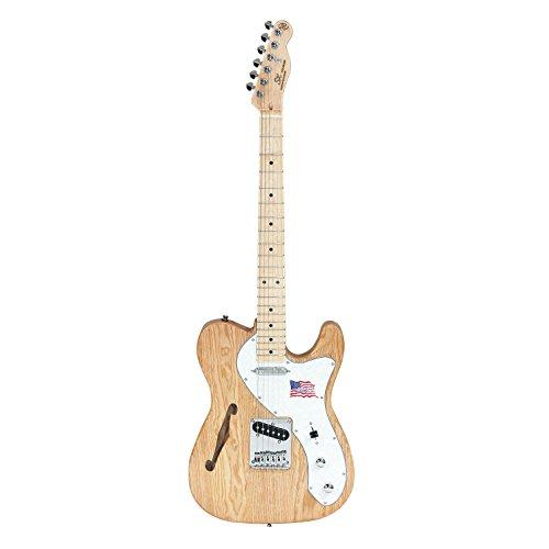 SX TL タイプギター アッシュ セミホロウ ボディ KTL-300 ナチュラル