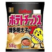 ポテトチップス博多明太子味 58g