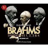 ブラームス:交響曲全集[1995年~1997年ライヴ]