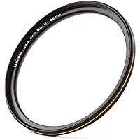 58mm レンズフィルター MC UV フィルター-ウルトラスリム16層多層加工 薄枠 紫外線保護 99% 透過率 Canon Nikon Sony対応