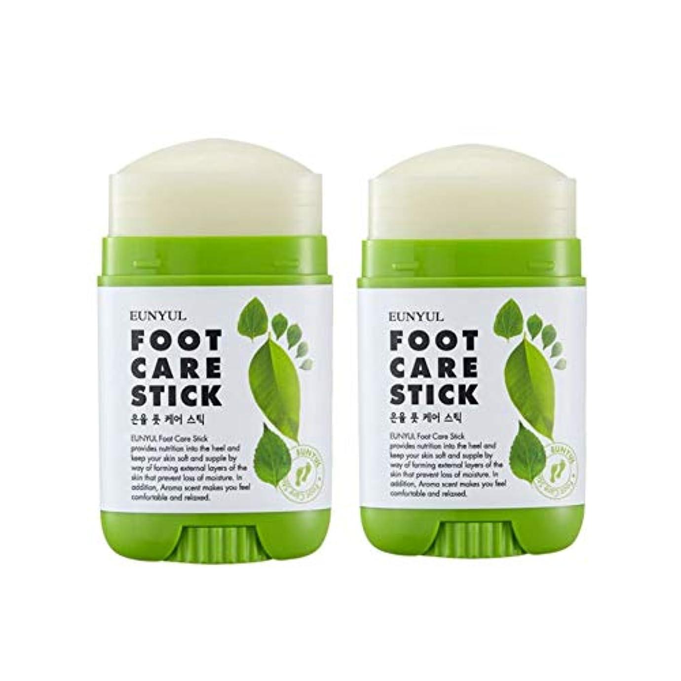 カフェシャックル定数Eunyulフットケアスティック20gx2本セット韓国コスメ、Eunyul Foot Care Stick 20g x 2ea Set Korean Cosmetics [並行輸入品]