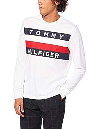 (トミーヒルフィガー) TOMMY HILFIGER 【オンライン限定】ビッグ フラッグ ロング Tシャツ/UPSTATE FLAG LONG TEE 長袖 ロンT プリント 08578D9835