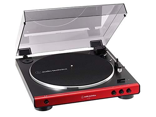 オーディオテクニカ (Audio Technica) フルオートターンテーブル(レッド) AT-LP60X-RD B07QJFYLLJ 1枚目