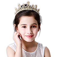 Tiara Kids Hairpin Small Crown Female Headdress Princess Little Girl Birthday Crown Crystal Card