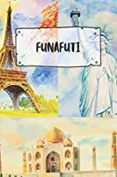 Funafuti: Ruled Travel Diary Notebook or Journey  Journal - Lined Trip Pocketbook for Men and Women with Lines