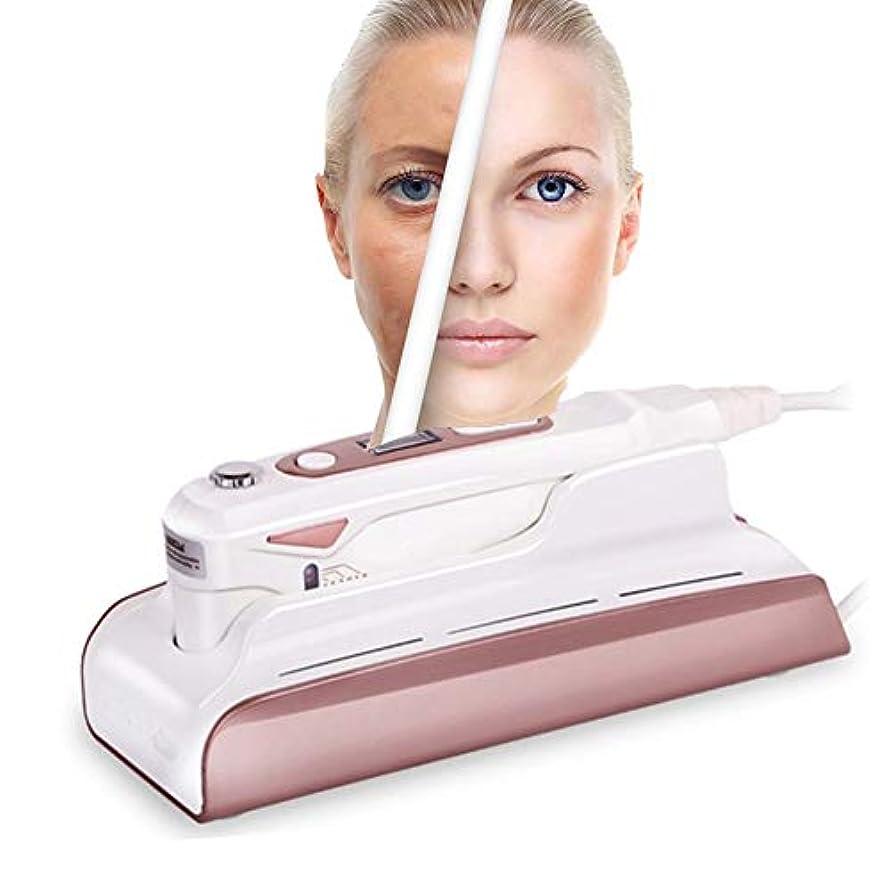 教室メロドラマティック軽く顔の調子を整える装置HIFUホームユースポータブルしわ除去高周波フェイシャルマシン用肌の若返りアンチエイジングファーミングリフティングスキンケア