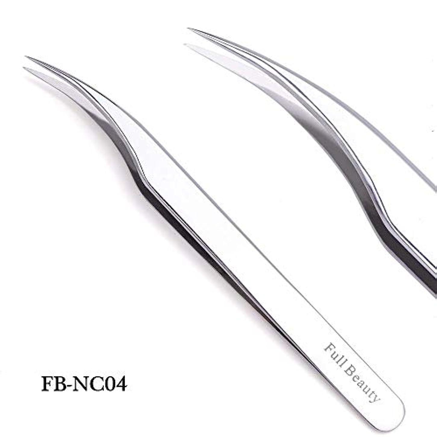 干ばつペチュランスご意見1ピーススライバーミラー眉毛ピンセット曲線ストレートまつげエクステンションネイルニッパーにきびクリーニング化粧道具マニキュアSAFBNC01-04 FB-NC04