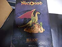 ディズニー ドラゴンキンド エリオット スタチュー #454 1000