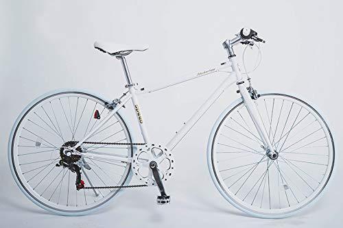 21Technology クロスバイク 6段変速 700×2...