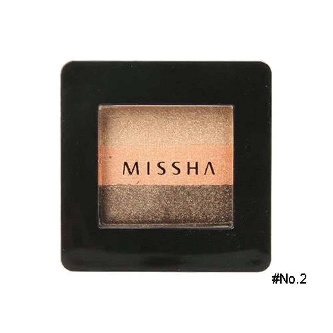 救援出会い契約するミシャ(MISSHA) トリプルシャドウ 2g No.2(ハニーオレンジ) [並行輸入品]